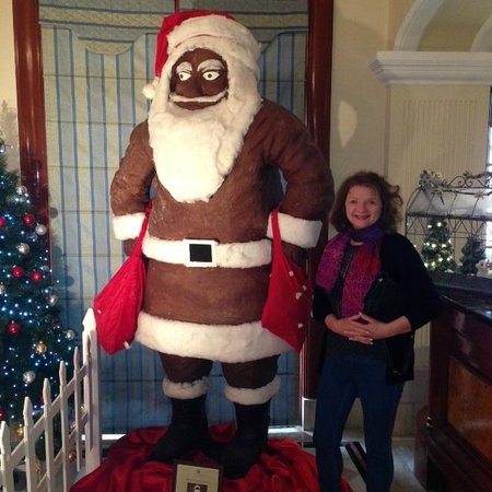 """The Imperial Hotel: Santa """"Sanjay"""" Claus -50kgs of chocolate"""