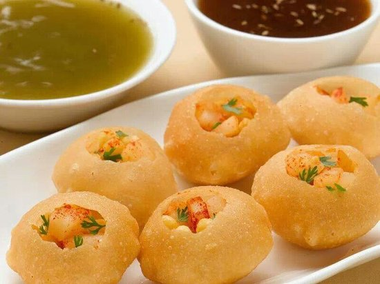 Teza: Indian street food concept..