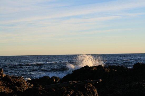 Black Rock Oceanfront Resort: No storm though...