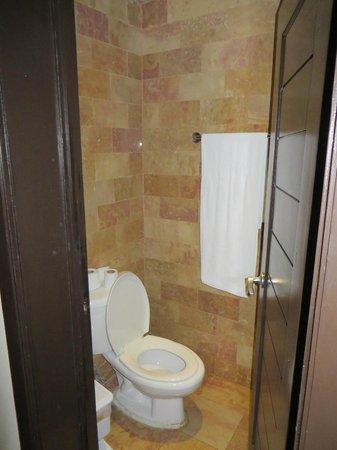 Catalonia Bavaro Beach, Casino & Golf Resort: Small shower behind door