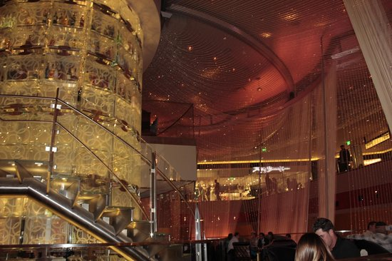 The chandelier lounge in the cosmopolitan lv picture of the the chandelier lounge in the cosmopolitan lv aloadofball Choice Image