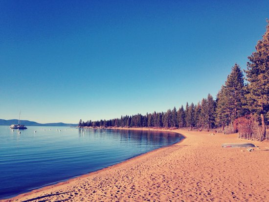 Lake Tahoe Nevada State Park: 美吧