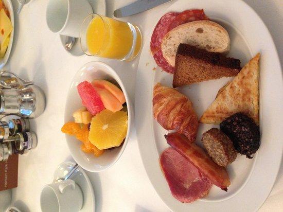 Herbert Park Hotel: Wonderful breakfast!