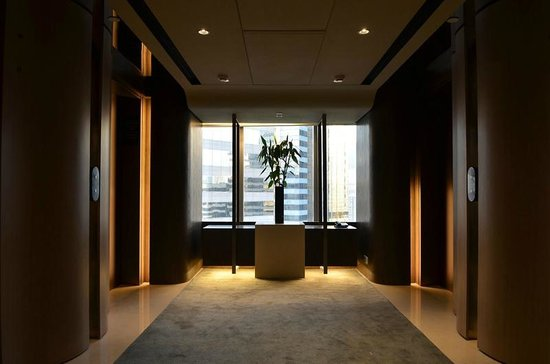Renaissance Hong Kong Harbour View Hotel: Elevator hall