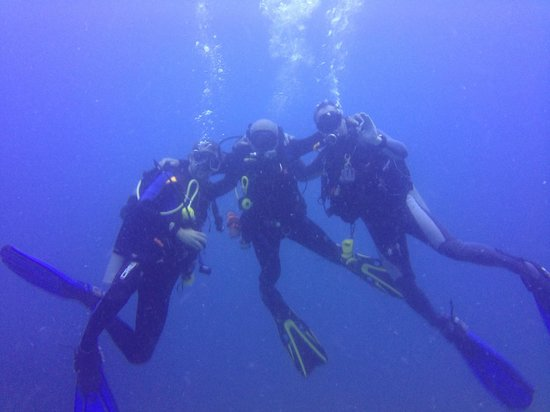 Diving Dominican Republic: Pierre' Vlad and Jerry.....the Three Amegos