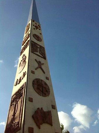 Alto de Menegua: Obelisco