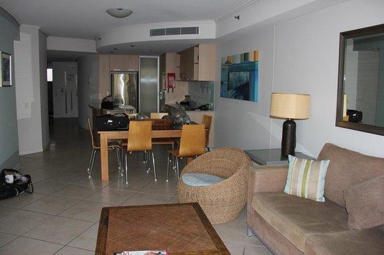 The Sebel Maroochydore: Living Area from Balcony
