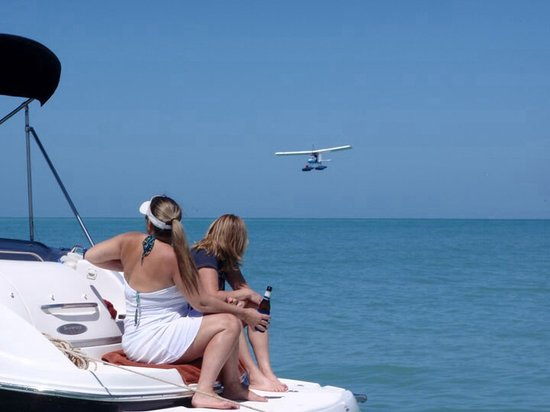 Island Life Charters: Landing at shell key