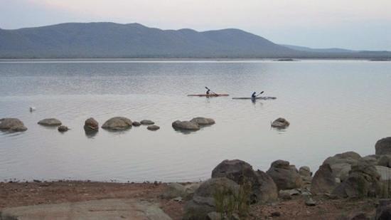 Gaborone Dam: Dusk at the dam