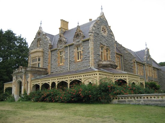 Abercrombie House - North facing aspect
