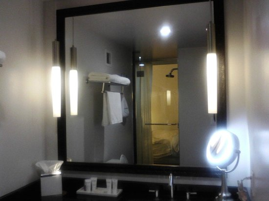 Padre Hotel: Cool bathroom.