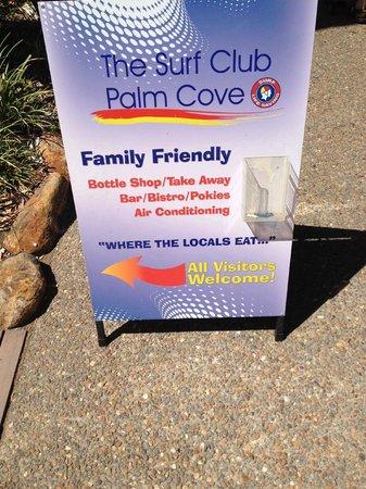 The Surf Club Palm Cove : But no Milkshakes