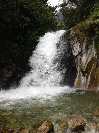 Los Jardines de Mandor: The Falls (from below, in the water)