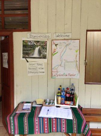 Los Jardines de Mandor: Entrance to Mandor
