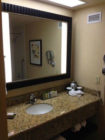 DoubleTree by Hilton Hotel Santa Ana - Orange County Airport: King Room Bathroom