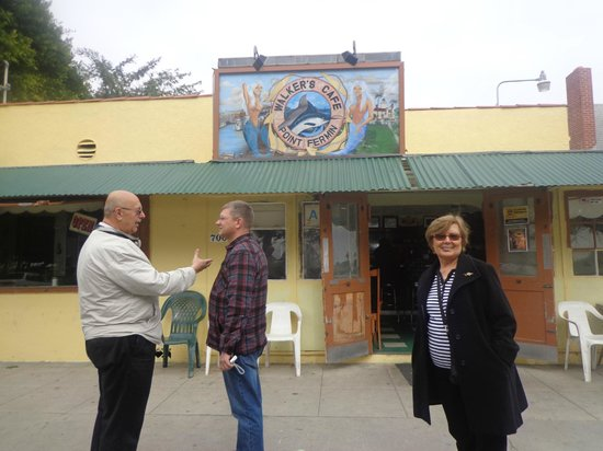 Walker's Cafe: O küçücük kafe