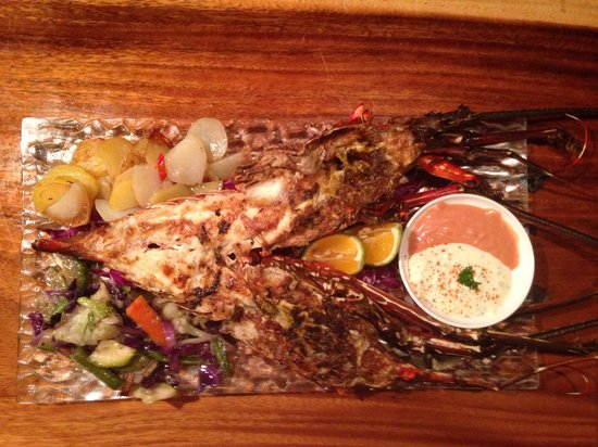 Red Snapper Seafood Restaurant: grilled lobster