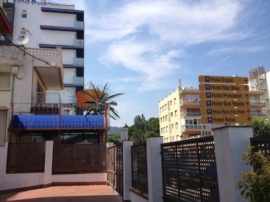 Apartamentos Casablanca Suites: Вид отеля