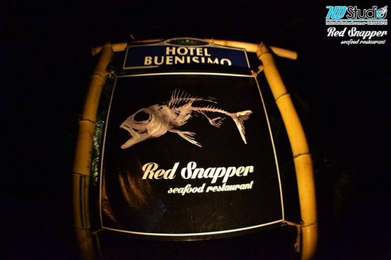 Red Snapper Seafood Restaurant: entrace