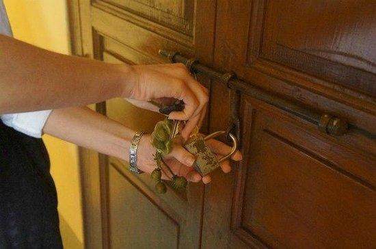 Dar Marhaba : Дверь номера