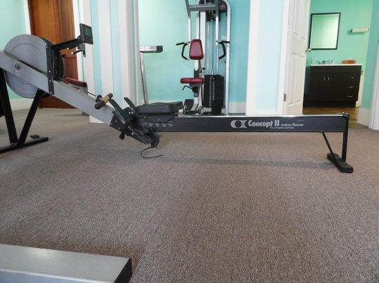 Carillon Beach, FL: Concept II Rower