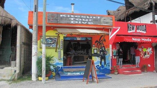 Koox Diving: Koox Dive Shop in Tulum