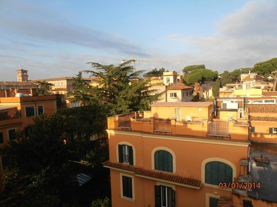 Hotel Villa San Pio: Morning view from hotel's roof