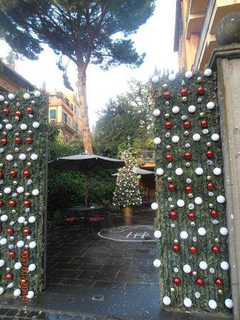 Hotel Villa San Pio: Hotel's entrance