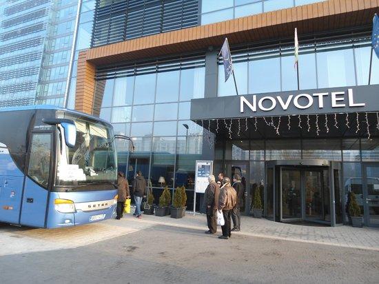 Novotel Sofia : Εξωτερικη Οψη