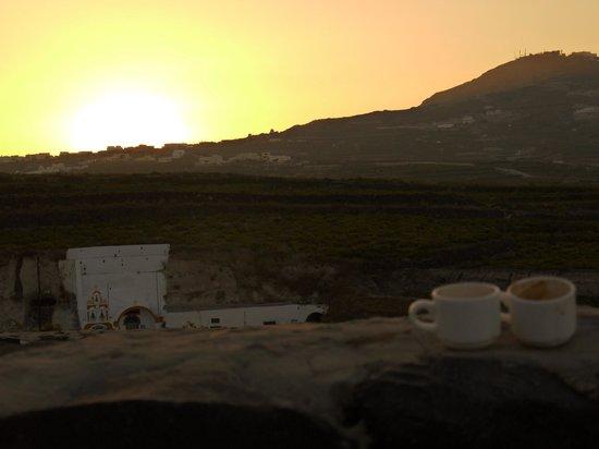 Vedema, a Luxury Collection Resort, Santorini: Ocean view.