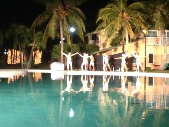 Be Live Experience Turquesa: Water balett was so nice!