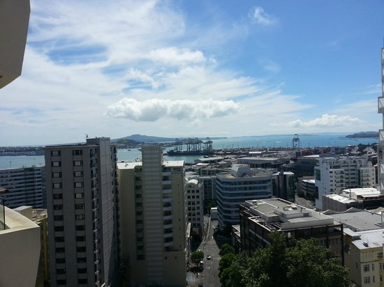 Pullman Auckland : A view from the Residential Suite Balcony