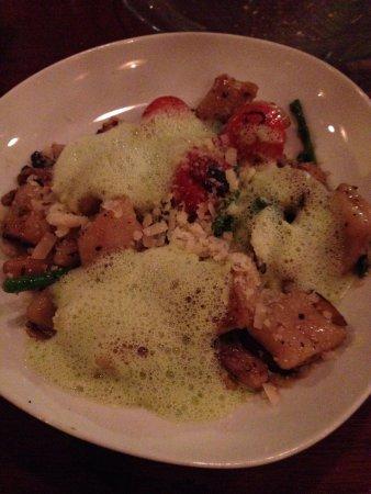 Night Kitchen: Gnocchi with celery foam