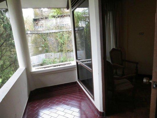 Puteri Gunung Hotel: Balcony