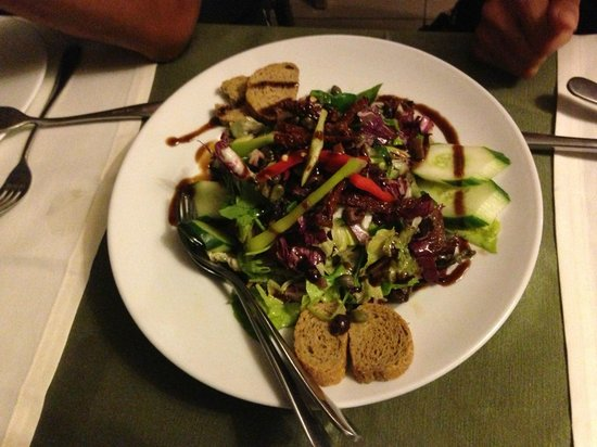 Barba Lazaros : Salad