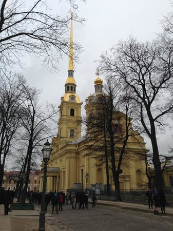 Peter and Paul Fortress (Petropavlovskaya Krepost): Петропавловский собор