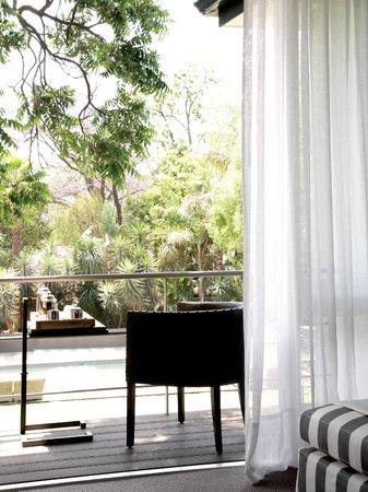 AtholPlace Hotel & Villa : Superior Suite 2 - balcony