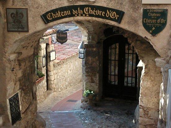 Chateau de la Chevre d'Or: The Main Entrance