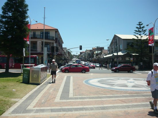 Adina Apartment Hotel Coogee: The street from Adina to Coogee Beach, straight walk