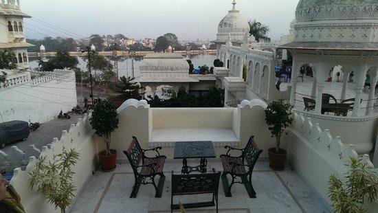 Hotel Swaroop Vilas: Il mio terrazzino personale