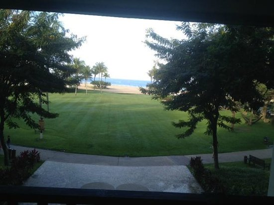 Shangri-La's Rasa Ria Resort & Spa: View from hotel lobby