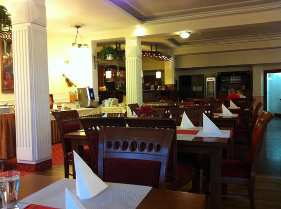 Hotel Wisła Premium: Ресторан в отеле Patria