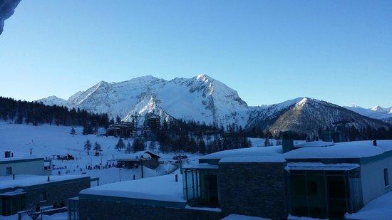 Villaggio Olimpico Sestriere : Vista dalla veranda della camera 104