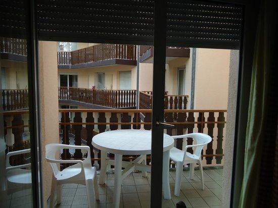 Residence Villa Eureca : balcon