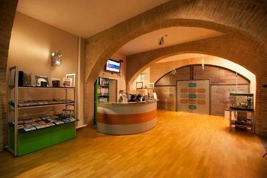 Museo Perugia Officina della Scienza e della Tecnologia (POST): ingresso del Centro della Scienza POST