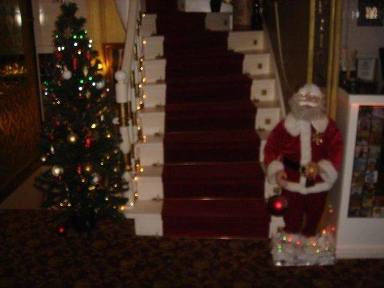 Sultan Tughra Hotel : Новогоднее оформление отеля