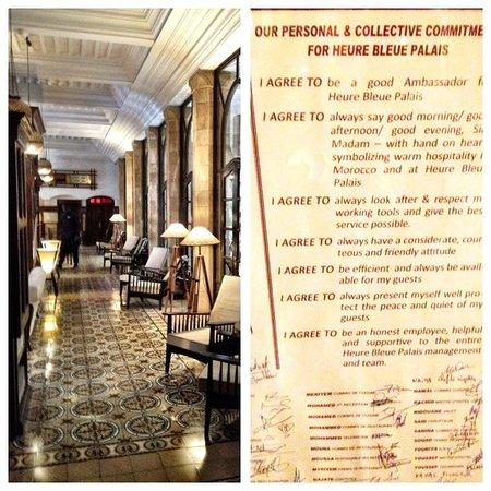L'Heure Bleue Palais: Hotel entrance