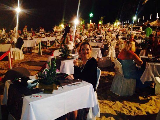 Bamboo Village Beach Resort & Spa: Silvester Gala Dinner