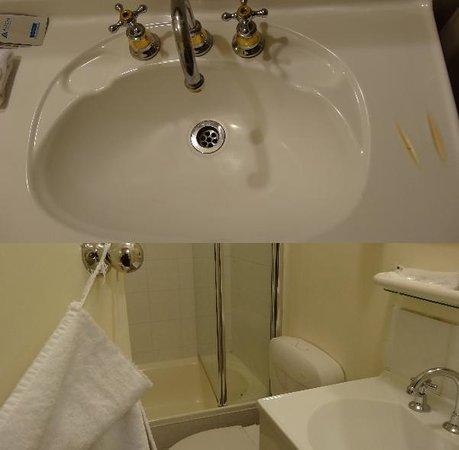Magnolia Court Boutique: burned basin & torn towel