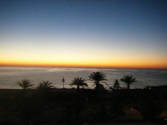 El Mouradi Hammamet : Sunrise morning 1st January, 2014